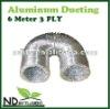 ALUMINUM FLEXIBLE SILVER DUCT VENTILATION DUCTING 6 METER