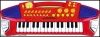 Electronic keyboard DRM-370/3206 toy