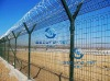 HIGH QUALITY pvc coated Airport Perimeter Security Fence (FACTORY)