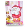 Santa Claus music greeting card