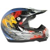 Stylish motorcycle helmet for cross-country