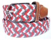 2012 best selling fashion fabric woven belts by machine in yiwu factory