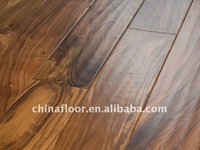 Prefinished acacia wooden floor