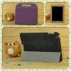 2013 hot sale pad 3 4 case leather case dormancy of ultra-thin SC cowboy grain leather handbag
