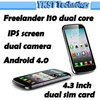 4.3'' Freelander I10 MTK6577 1.0GHz Dual Core Mobile phone