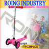 Aluminum T-bar Children Scooter for age 3+ in pink