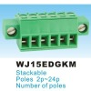 Pluggable Terminal Block Connector 3.81mm