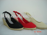 lady jute shoes