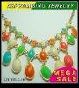 New style bib statement bubble necklace wholesale