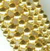 8MM Gold Colour Magnetic Round Beads,magnetic round bead, magnetic beads,magnetite beads,magnetic sphere
