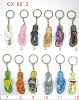 Plastic figure The Slipper key chains CX-8812