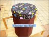 bedroom furniture/non-woven storage stool