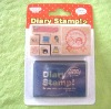 Diary stampers,wooden stamps