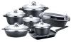 13pcs  Die-casting aluminum cookware set