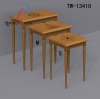 High quality S/3 nested table/wooden table
