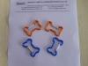 Bone shape aluminium hooks