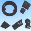 Poly basic alloyed casting liner