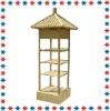 decorative shelf ,4-tier bamboo shelf,garden shelf