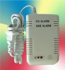 domestic fire alarm , combined carbon monoxide and gas detector