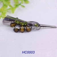 2012 fashion hair jewelery fashion hair clips