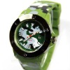 2012 New Fashion Good Quality ,Silicone Strap 7 Colors 7 Logos New Army Watch With Calendar
