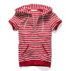 Women's striped Y/D pullover sweaters
