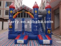 2012 hot inflatable bouncer castle