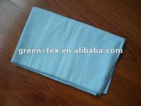 Light blue color microfiber sueded bath towel