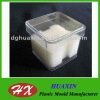 2012 fashion clear Plastic watch box