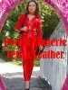 gothic leather catsuit,red tight leather catsuit,leather overall