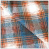 scotch plaid cotton flannel tartan check two sides brushed fabric