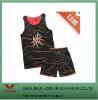 newest two sides dressing basketball uniform design 2011