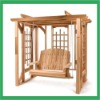 PATIO WOODEN SWING CHAIR
