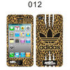 Fashion panthera sticker for mobile phone,for iphone 4 decoration faceplates protective decals
