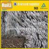 Tip-discharge artificial fur/faux fur