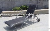 Modern Chaise Lounge with wheel UNT-TB-206