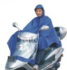 thicker larger nylon with pvc coating motorcycle raincoat