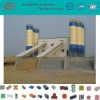 HZS100 fully automatic concrete mixing plant