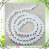 wholesale white loose glass beads