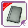 2013 pu leather business agenda with calculator