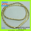 top brand female women like elegant thin slim copper alloy glitter gold tone chains skirt jewelry accessory belt