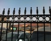 wrought iron Fence used in garden from shandong factory