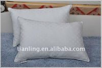 cotton pillow with polyester filling