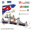 (UK) Tower Bridge 3d puzzle boy links of London souvenirs