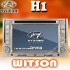 WITSON hyundai dvd player tv