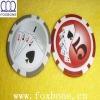 Sticker poker chips