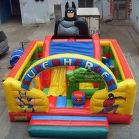 Inflatable air jumper for those super heros