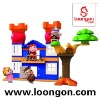 LOONGON children plastic building blocks GG Bond licensed