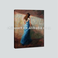 Girls Portrait Oil Painting Canvas Art Prints