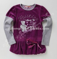 2013 fashion style girls coat, child colothing